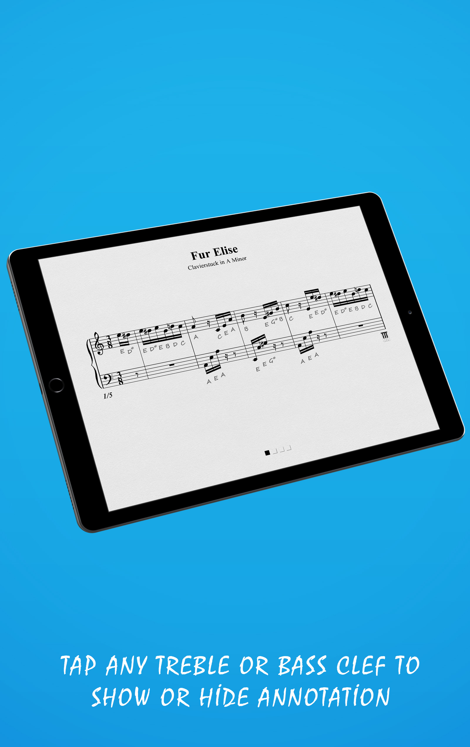 Fur Elise Landscape Mode (Tablet)