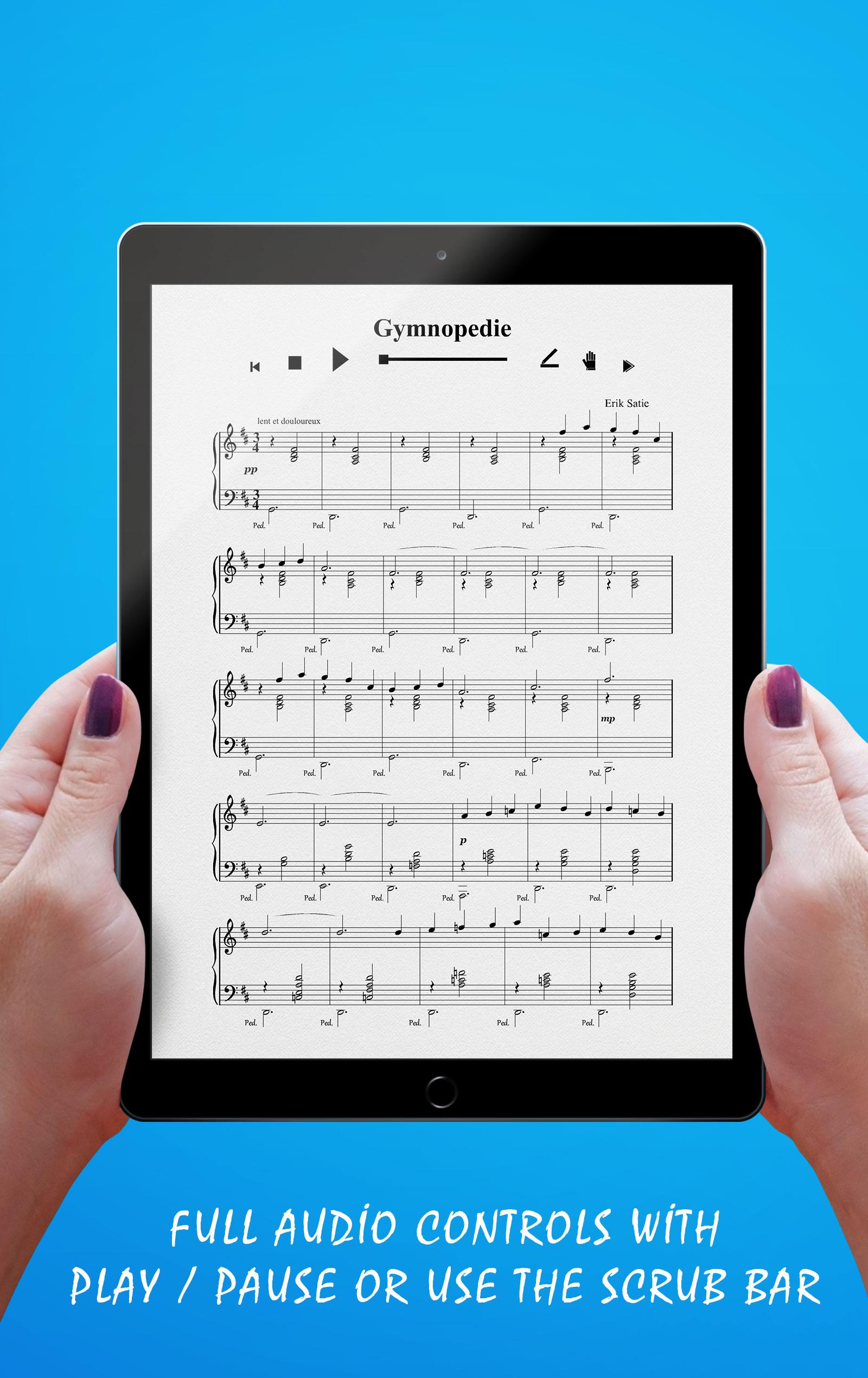 Gymnopedie No 1 Audio Controls