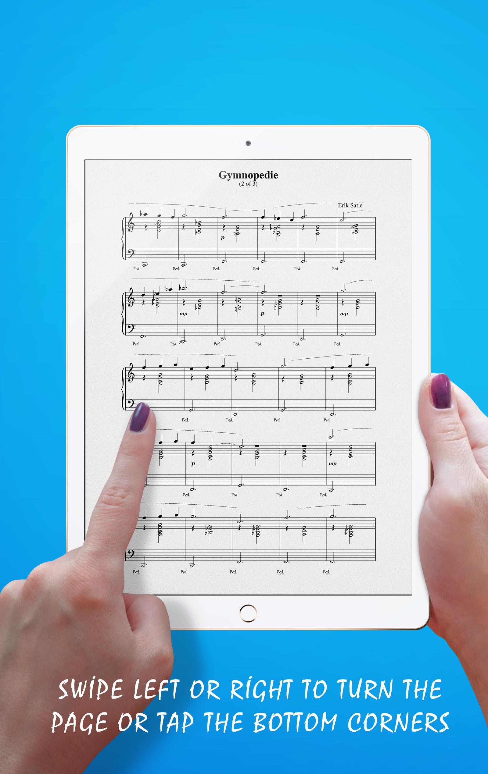 Gymnopedie No 2 Songbook Navigation