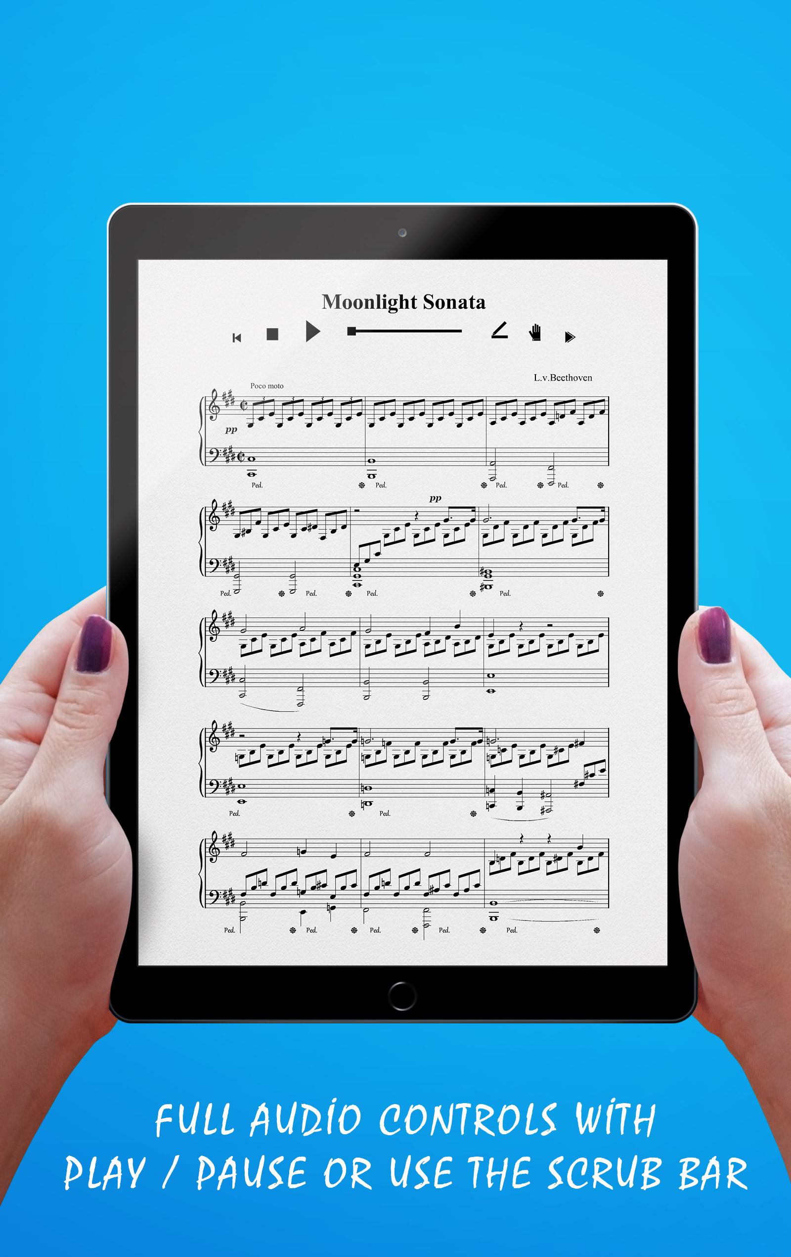 Moonlight Sonata Audio Controls