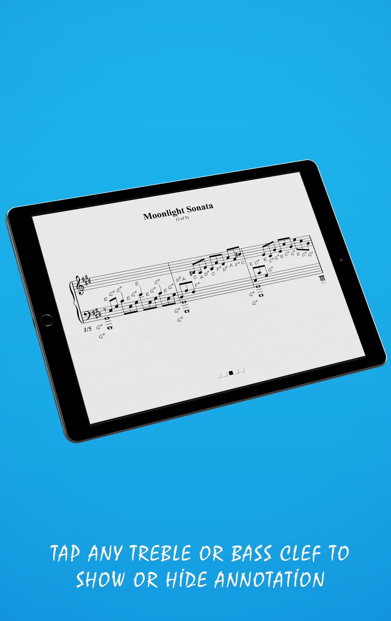 Moonlight Sonata Landscape View (Tablet)