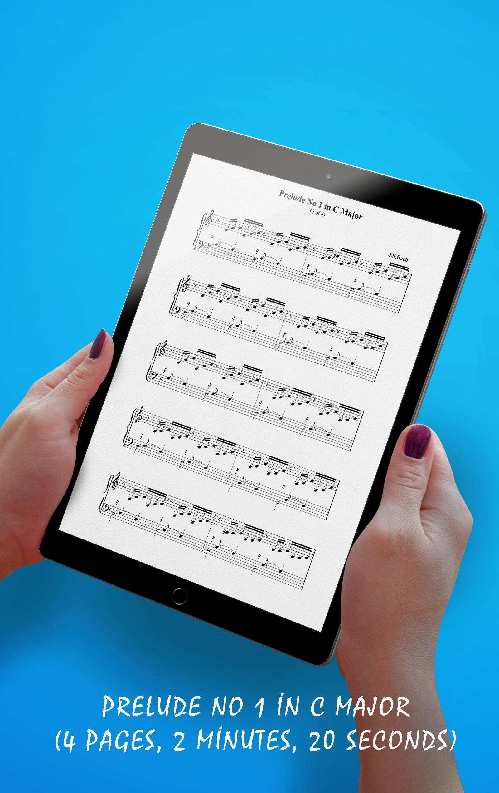 Prelude No 1 C Major Sheet Music (Details)